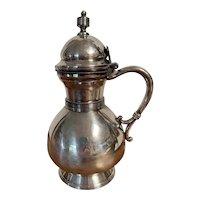 Antique Silver Syrup Pitcher Circa 1865