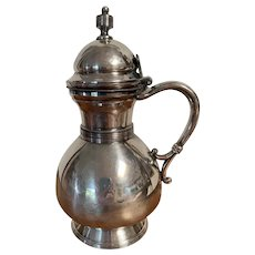 Antique Silver Syrup Pitcher Circa 1865