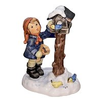 The Benevolent Birdfeeder Hummel figurine