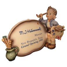 The Artist Plaque Hummel figurine