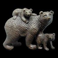 Vintage European Bronze Sculpture by: Milo c.1985 (2.12lbs.)