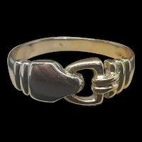 Antique 18K Yellow & White Gold Friendship Ring c.1920 (5g)