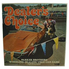 Dealers Choice Board Game Used Car Dealer Card Game