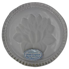 24% Lead Crystal Coasters Made in Western Germany