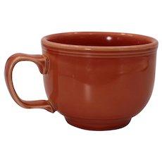 Homer Laughlin Fiesta Retired Persimmon Jumbo Coffee/Soup Mug