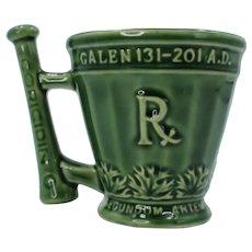 Schering Coricidin Mortar And Pestle Ceramic Mug