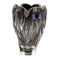 Marquis Waterford Crystal Tulip Shaped Vase Germany