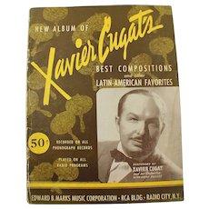 1930's New Album of Xavier Cugat's Best Compositions Vintage Sheet Music