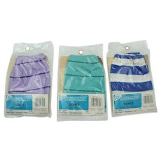 The Original Doll Baby Fibre Craft Tights Cabbage Patch Style Set of 3