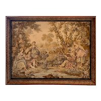 Fine French Tapestry in Frame - Large 62 x 47