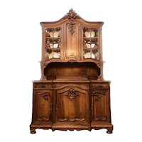 Magnificent French Hutch China Cabinet Vaisselier - Large 108x68