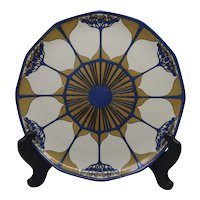 Villeroy and Boch Mettlach Elderberry Art Nouveau Charger