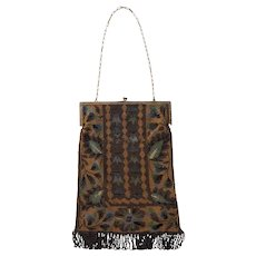 Micro Beaded Deco Bag Purse