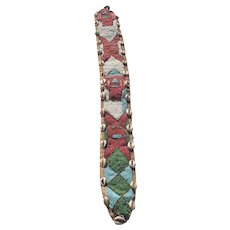 African Tribal Beaded Belt Sash