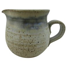 Studio pottery jug or creamer by Fangfoss pottery, Yorkshire