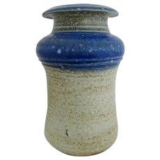 Studio pottery vase by American studio potter, Karen Karnes.