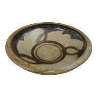 Studio art pottery bowl by Svend Bayer