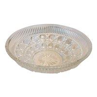 Vintage Indiana Glass Windsor Royal Brighton Clear Bowl