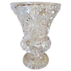 Tritschler Winterhalder Crystal Vase, West Germany