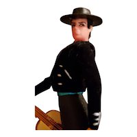 Marin Gentleman Doll Dancer/Guitar Player from Spain Mariachi
