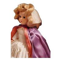 "Mid-century Nurse Doll All Original  7 1/2"" tall Marcie"