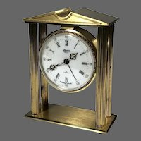 Linden Guild French Dore Clock