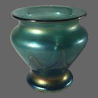 Heron Art Glass Vase