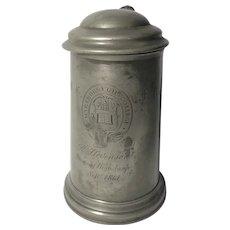 Marlborough College 1861 Trophy Stein