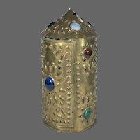 Bradley & Hubbard Brass Hanging Candle