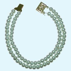 Double strand Pearl Necklace for Vintage Cissy Miss Revlon Doll