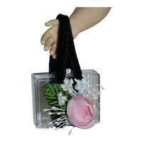 """Clear Purse for Cissy Miss Revlon 20"""" Doll"""