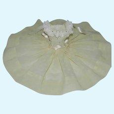 "Flocked Voile Sundress for Vintage 20"" Cissy or Miss Revlon Doll"