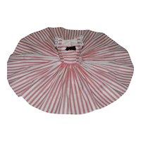 New! Striped Polished Cotton Sundress for Vintage Cissy Doll