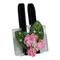 "Clear Plastic Purse for Madam Alexander Cissy Revlon Doll 18"" - 20 + """