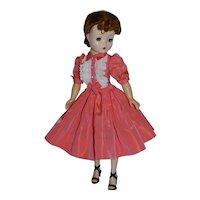 Taffeta Shirtwaist Dress for Vintage Cissy Doll