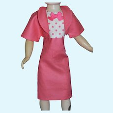 Pink Dress & Bolero for Vintage Cissy Doll