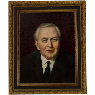 Harold Wilson 1916-1995 British Prime minister