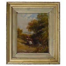 Henry Harris of Bristol 1852 – 1926 Oil on canvas