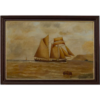 The Mary Stewart J Wilson Early 20th century Oil on canvas