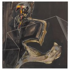 Francis Bacon style Figure