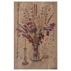Flowers In A Vase by Rafael Duran