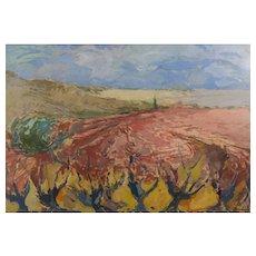Landscape with Vines