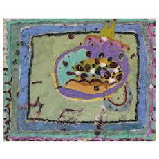 Abstract painting in a Modernist Style - a follower of Gillian Ayres