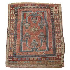 Antique Handmade Tribal Rug