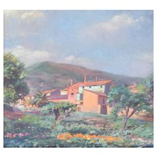 Rural Landscape in the manner of Armand Guillaumin