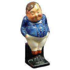 Royal Doulton Dickens Figurine Fat Boy c1920s