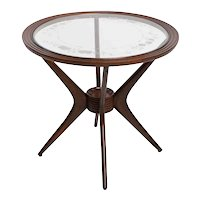 Paolo Buffa Style Italian Coffee Table 1950