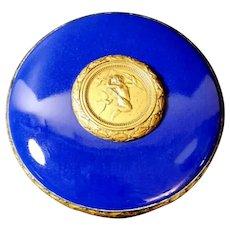 Sèvres Ceramic Gilded Bronze Box Paul Milet, France