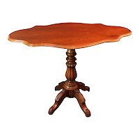 Louis Philippe French Walnut Sail Table 1850