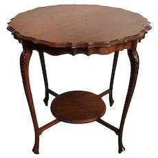 Chippendale Style Mahogany Tea Table, England, 1910